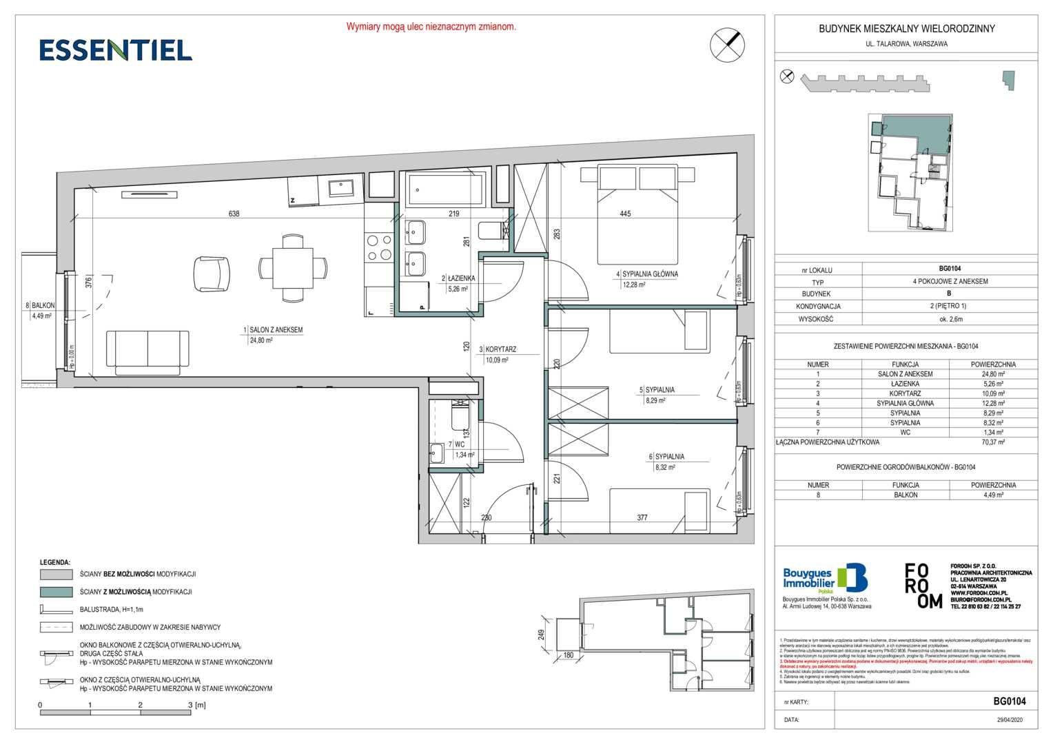 Mieszkanie w inwestycji: Essentiel