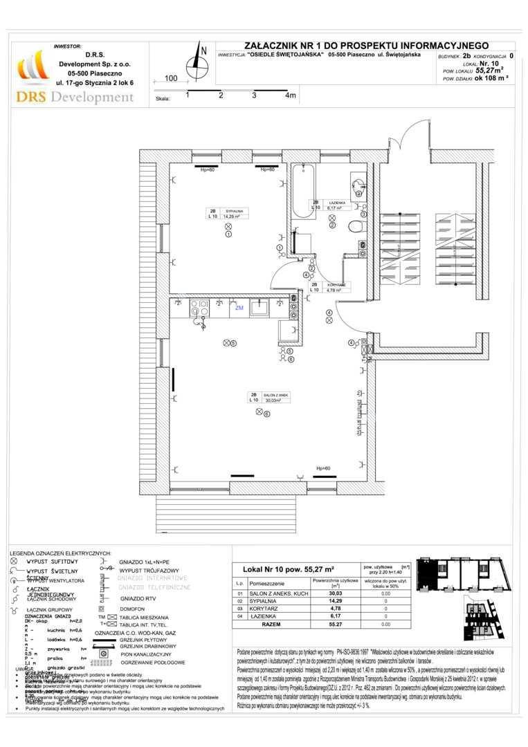 Mieszkanie w inwestycji: Osiedle Świętojańska