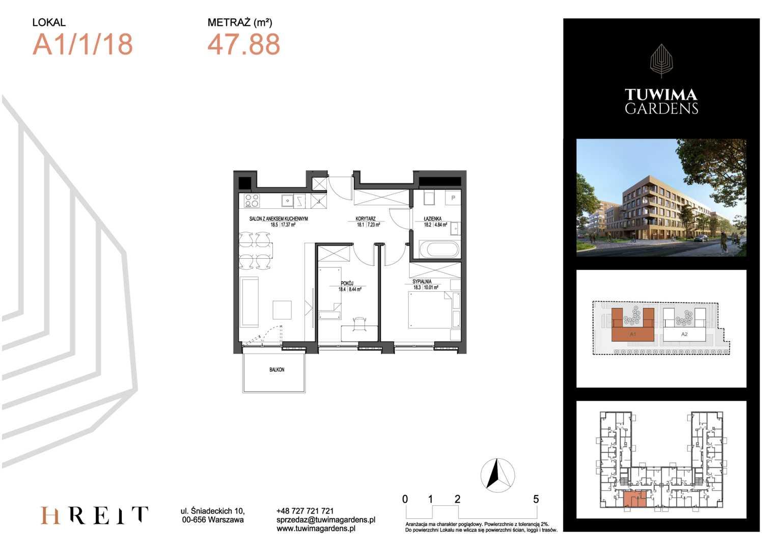 Mieszkanie w inwestycji: Tuwima Gardens