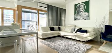 Apartament w mennica residence (50 mkw)