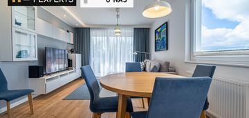 Eleganckie, dwa pokoje na nowym osiedlu