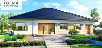 Łochowo - nowy dom z garażem