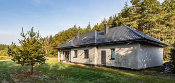Dom przy lesie, działka 3301 m2, blisko konstancin