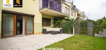 Mieszkanie jak dom - 3 pokoje, ogród i garaż