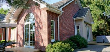 Dom pod warszawą w amerykańskim stylu
