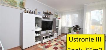 Mieszkanie 3 pokojowe ustronie