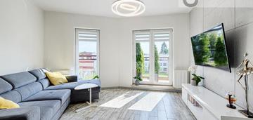 3 pokoje, 55,5 m2, ul. żeligowskiego 43, city park.