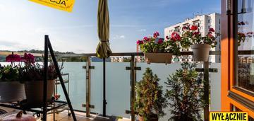 Przestronne mieszkanie z dużym balkonem