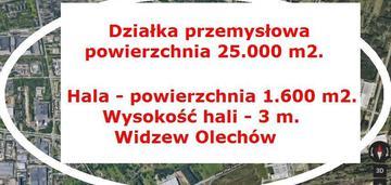 przemysłowa 2.5 ha  - Widzew - Olechów
