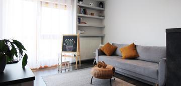 Komfortowe 2pokoje mieszkanie+garaż/prądnik biały