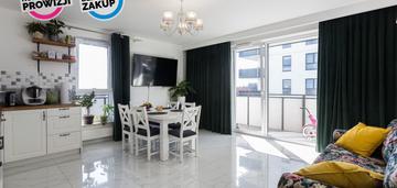 4 pokojowy apartament w centrum z dużym balkonem!