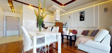 3 pokoje, 2 balkony, wysoki standard, os. wilno