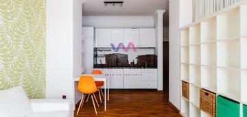 Kameralne mieszkanie/studio z ogródkiem 30m2