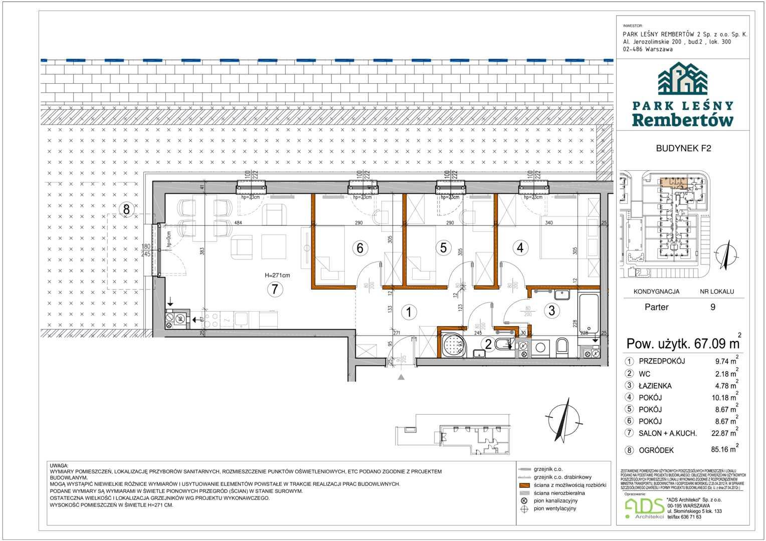 Mieszkanie w inwestycji: Park Leśny Rembertów Etap III i IV