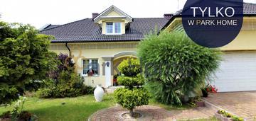 Piękny dom z wyjątkowym ogrodem