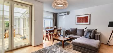 Mieszkanie 2 pok, duży taras, centrum, kościuszki