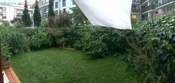 Mieszkanie z dużym ogródkiem