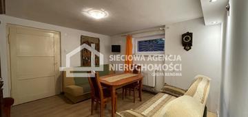 2-pokojowe mieszkanie w suterenie na przylesiu
