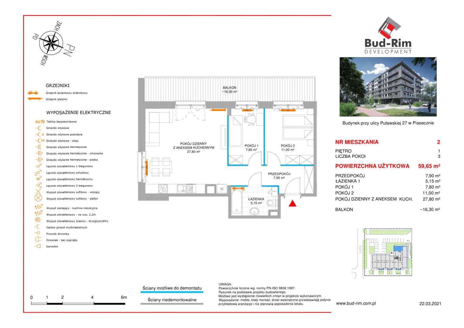 Mieszkanie w inwestycji: Puławska 27
