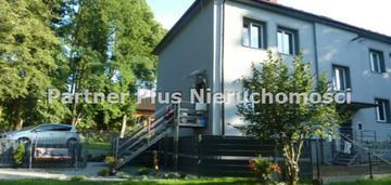 Dom bliźniak wysoki standard z własnym ogrodem 6ar