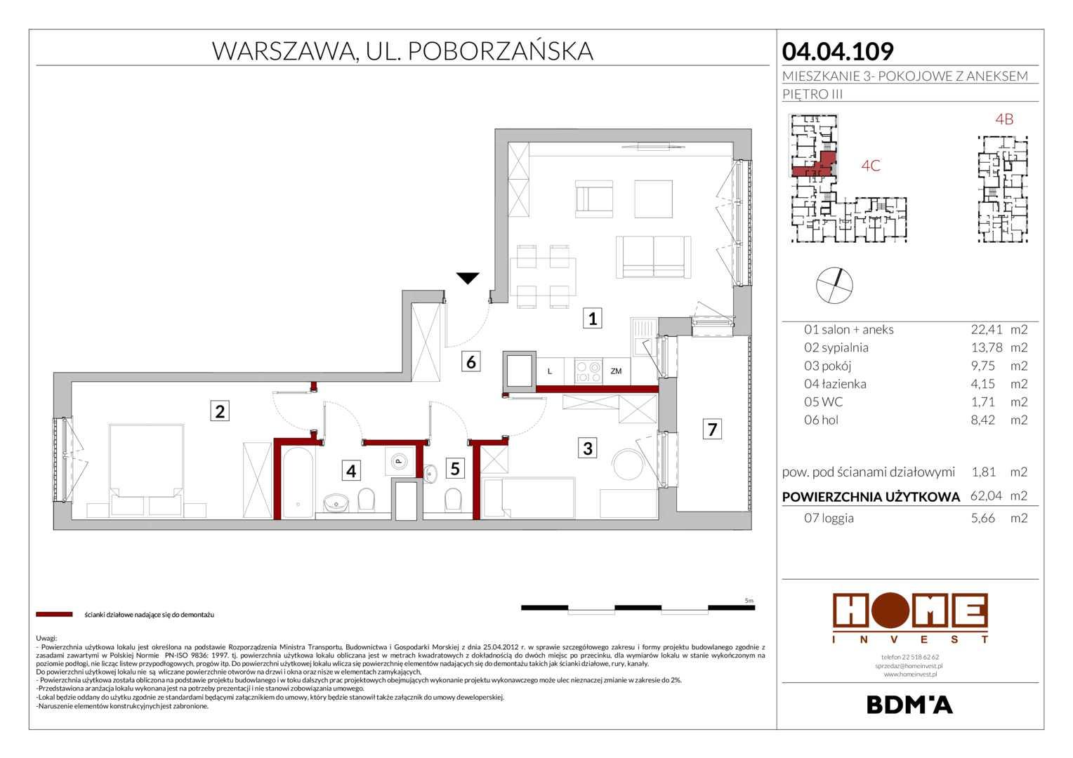 Mieszkanie w inwestycji: Warszawski Świt ( Nowy Etap już w Sprzedaży! )