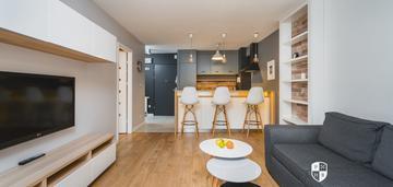 Nadwiślańska / piwna, 42m²: 2 pokoje z balkonem