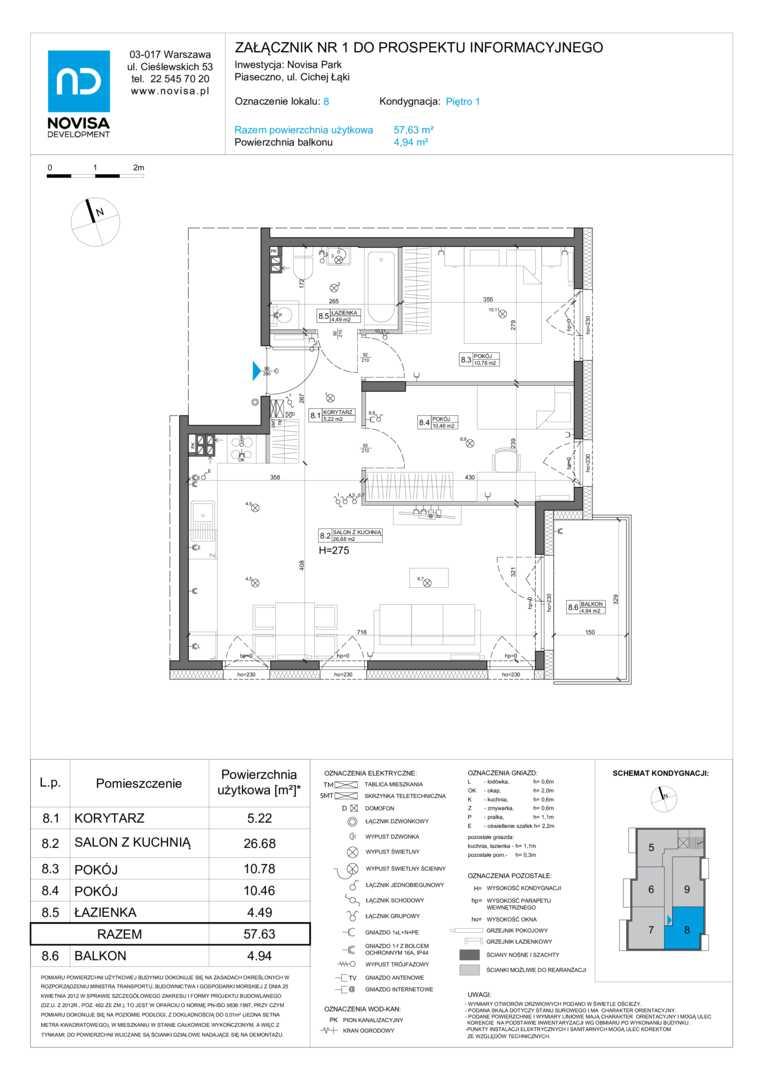 Mieszkanie w inwestycji: Novisa Park