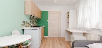 Pokój z aneksem kuchennym w mieszkaniu