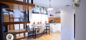 Wyjątkowe dwupoziomowe mieszkanie