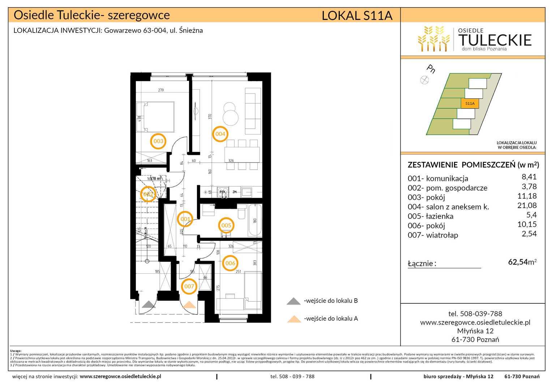 Dom w inwestycji: Osiedle Tuleckie