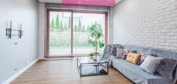 Ekskluzywne mieszkanie z ogródkiem