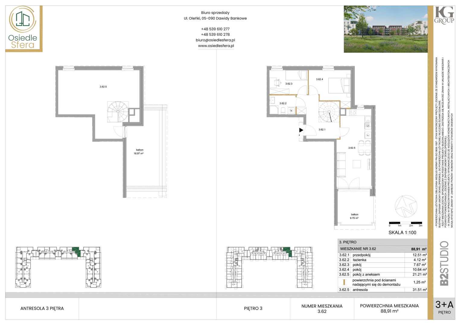 Mieszkanie w inwestycji: Osiedle Sfera