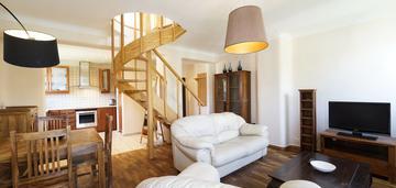 Dwupoziomowe mieszkanie na bronowicach