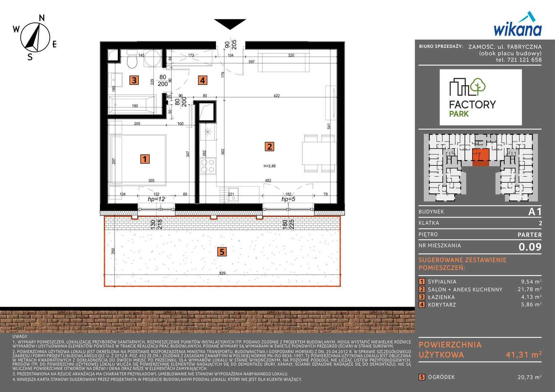 Mieszkanie w inwestycji: Factory Park