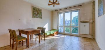 Muranów rozkładowe 2 pokoje balkon