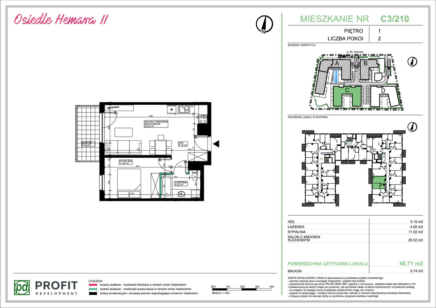 Mieszkanie w inwestycji: Osiedle Hemara - etap II