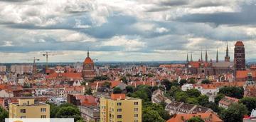 Apartament na dachu gdańska