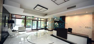 Rezydencja mokotów/ lux studio z garażem/ ogródek/ pom gospodarcze/ metro wierzbno