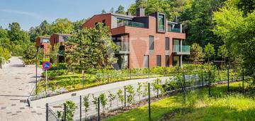Dwupokojowy apartament z ogródkiem przy lesie