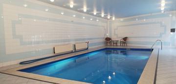 Atrakcyjny dom z basenem zalesie górne