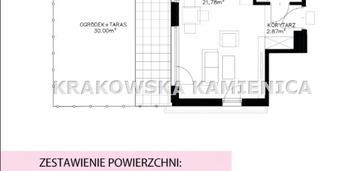 Kawalerka 28 m2, ogródek 30 m2 bronowice, ojcowska