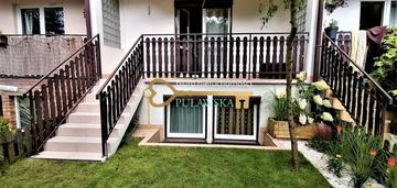 Dwupoziomowe mieszkanie z własnym ogródkiem!