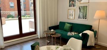 2 pokoje, 50 m2, ulica tylna, taras 80m2!