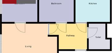 3 pokoje bałuty doły