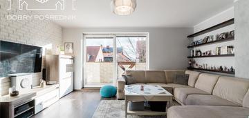 Mieszkanie trzypoziomowe w centrum pruszcza