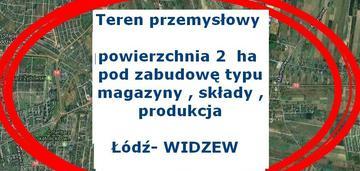 przemysłowa 2ha -Widzew