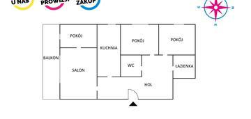 4 pokoje w centrum gdyni