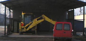 Teren przemysłowy z halą 36a kraków nowa huta
