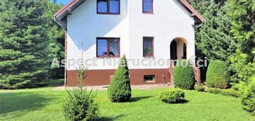 Dom z dużym pięknym ogrodem na białołęce
