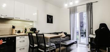 Komfortowe 2-pok. mieszkanie 28.15m2 z ogródkiem